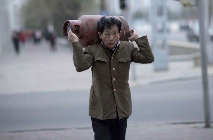 Pokazywanie życia codziennego w Korei Północnej jest zabronione.