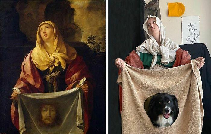 Święta Weronika, obraz anonimowego artysty - oryginał i współczesna interpretacja.