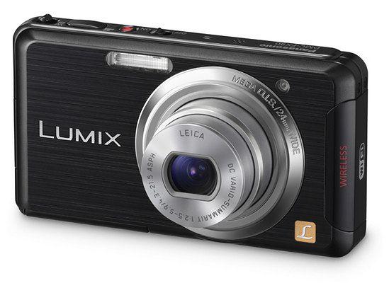 Panasonic Lumix DMC-FX90 - mały kompakt z Wi-Fi