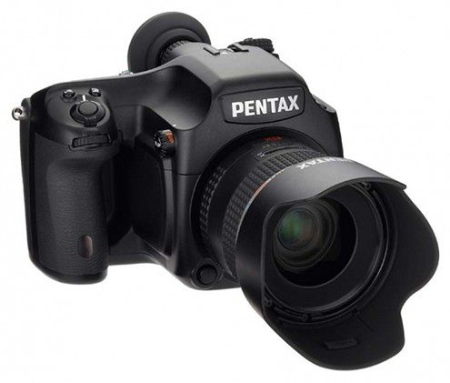 Pentax 645D - w końcu średni format!