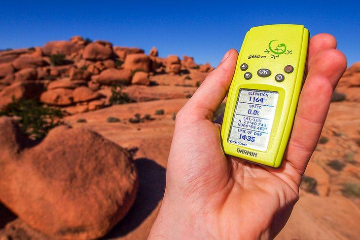 GPS w fotografii podróżniczej