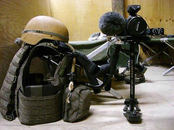 Canon 5D Mark II na wojnie