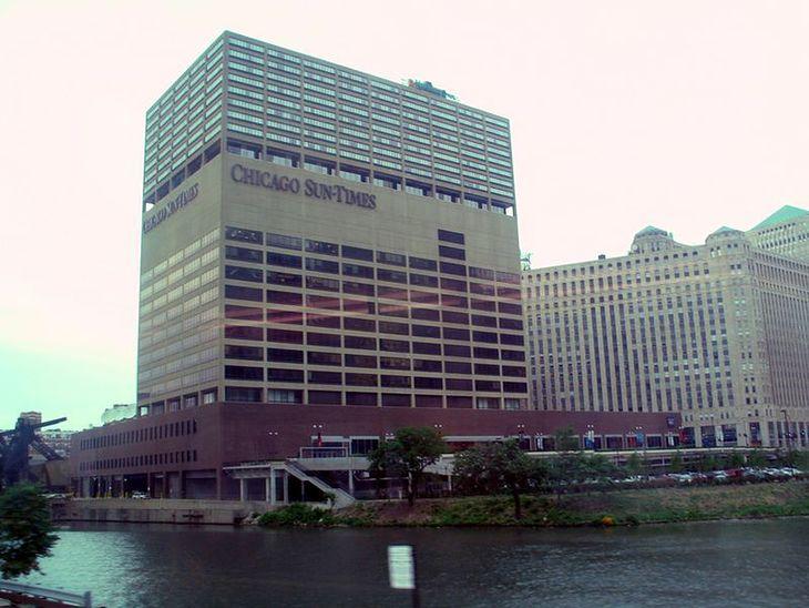 Budynek Sun Times (źródło Wikimedia Commons)