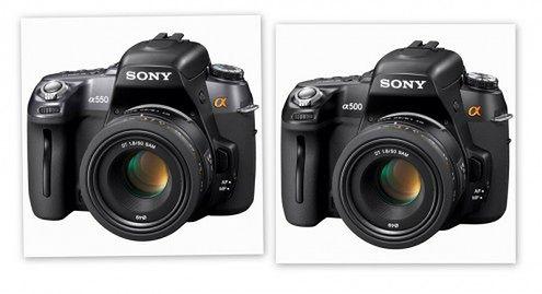 Sony Alfa A500 i A550 - LiveView dla średniozaawansowanych