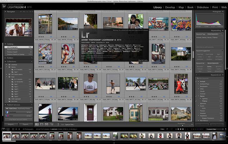 Adobe Photoshop Lightroom 4 beta