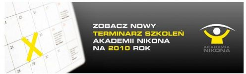 Szkolenia Akademii Nikona na 2010 rok