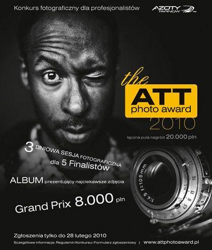 ATT Photo Award, czyli nowy konkurs fotograficzny dla profesjonalistów