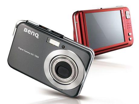 BenQ T850 płaski aparat z dotykowym ekranem
