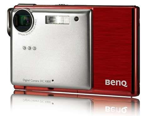 BenQ X800 - cienkie 8 megapikseli z mp4
