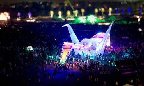 Coachella Music Festival - świetny film poklatkowy z 50 000 zdjęć