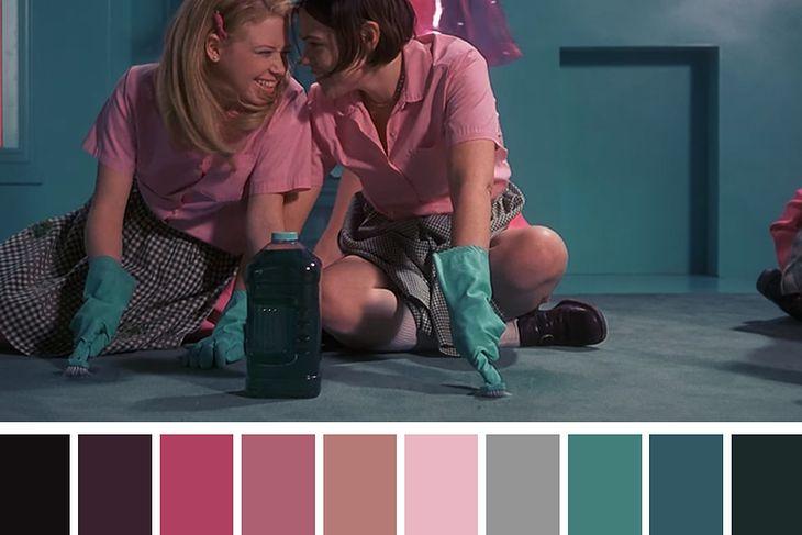 """Tak wygląda rozszczepienie barwne, stworzone przez Cinema Palettes, w jednej ze scen filmu """"Cheerleaderka"""" z 1999 roku."""