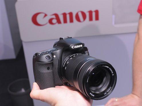 Canon EOS 60D - pierwsze wrażenia