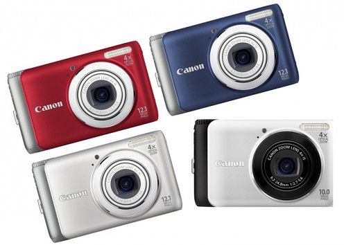 Canon PowerShot A3100 IS oraz A3000 IS