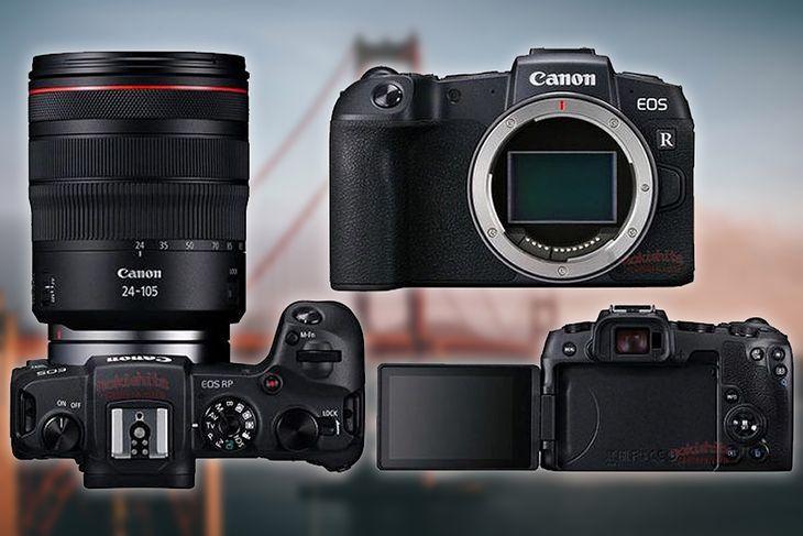 Canon EOS RP z obiektywem 24-105 mm f/4 L IS USM