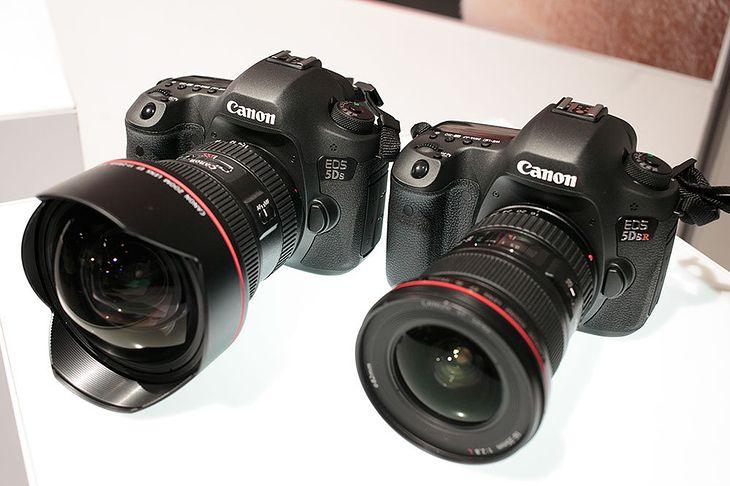Canon EOS 5Ds i 5Ds R w dniu premiery.