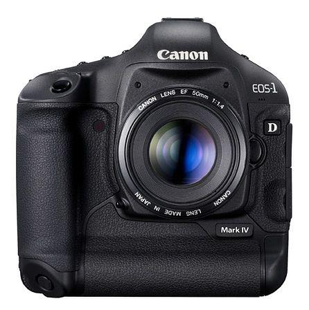 Canon EOS 1D Mark IV - testy i recenzje