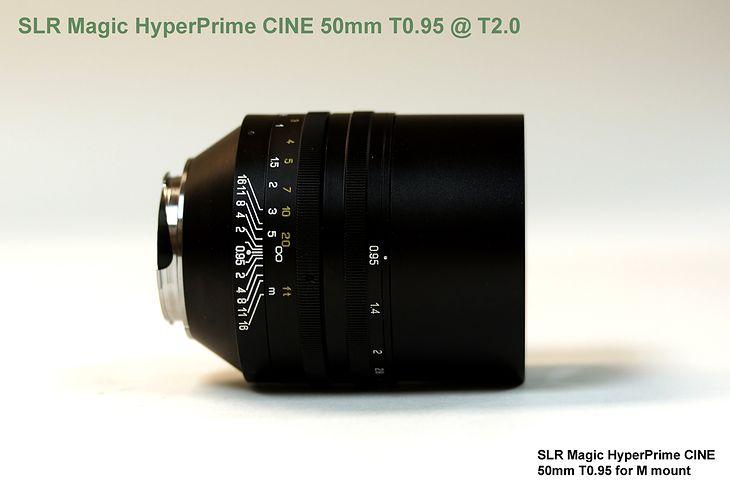 SLR Magic HyperPrime CINE 50mm f/0,95