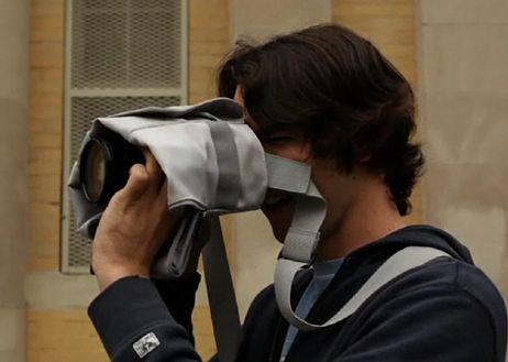 Cloak bag - pełna gotowość aparatu i świetny kamuflarz