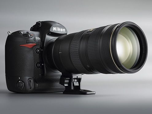 Nikon D3s, czyli ISO 102 400