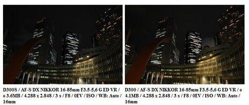 D300 vs D300s