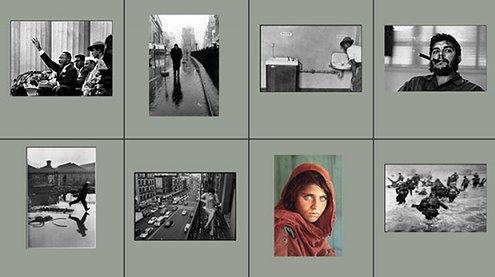 Kolekcja fotografii agencji Magnum w rękach Della