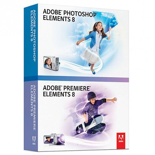 Adobe Photoshop Elements i Premiere 8