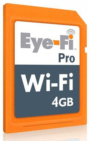 Eye-Fi Pro 4 GB z WiFi