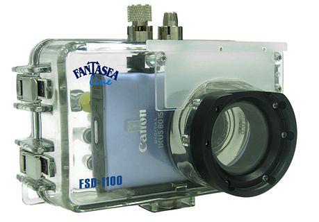 Fantasea FSD-1100, podwodna obudowa dla Canonów