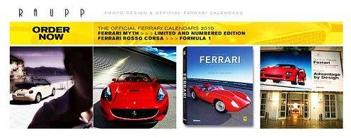Kalendarz Ferrari by Gunther Raupp