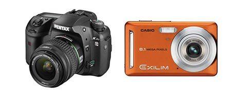 Aktualizacja firmware: Casio Exilim EX-Z9 oraz Pentax K20D