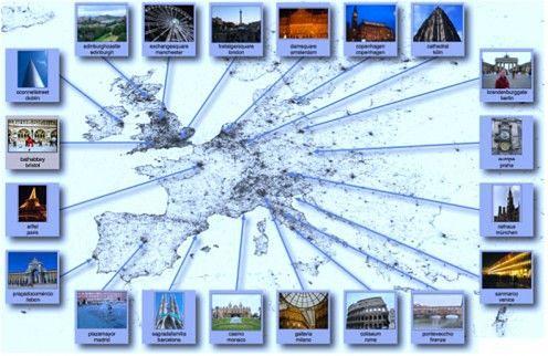 5 milionów zdjęć z Flickr?a na mapach
