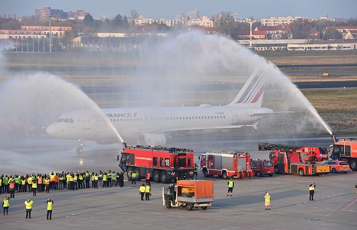 Berlińczycy żegnają się z lotniskiem Tegel
