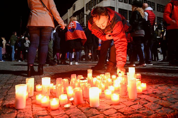 Protest w Bratysławie