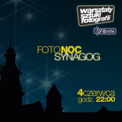 FotoNoc i fotograficzny flashmob w Krakowie