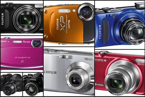 Kompaktowy worek nowości od Fujifilm
