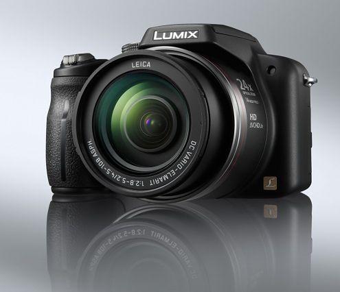 Panasonic Lumix DMC-FZ45 z 24-krotnym zoomem i HD