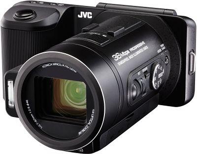 Hybryda JVC - połączenie kamery Full HD z cyfrową lustrzanką