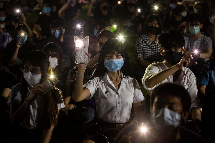 W Bangkoku trwają protesty antyrządowe