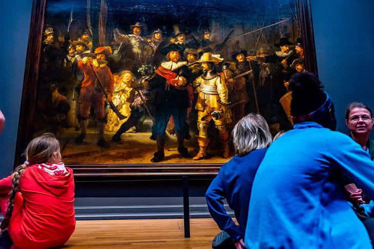 """Straż nocna"" Rembrandta"