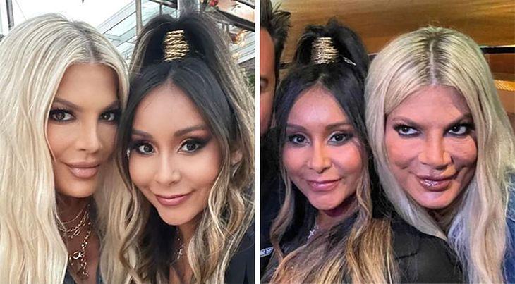 Zdjęcie po i przed retuszem