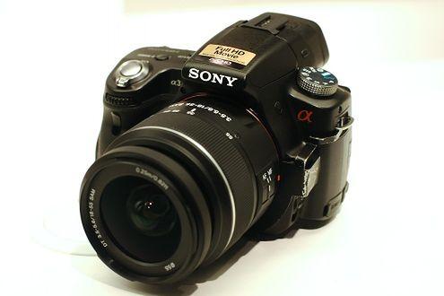Sony Alfa A33 - pierwsze zdjęcia