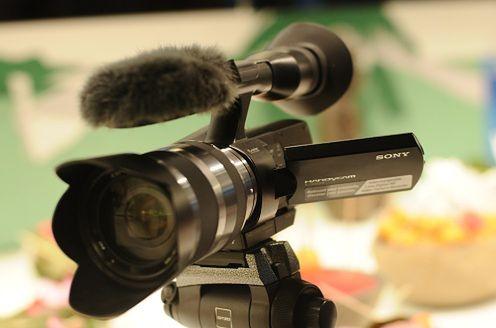 Sony Handycam NEX-VG10E - pierwsze zdjęcia