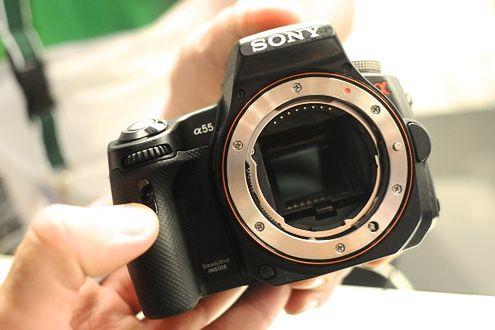 Sony Alfa A55 - pierwsze zdjęcia