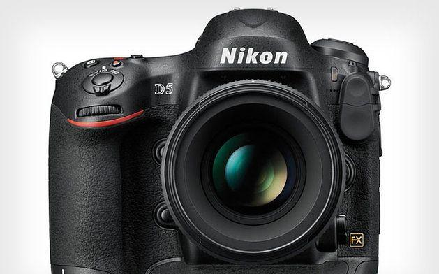 Nieoficjalna grafika Nikona D5
