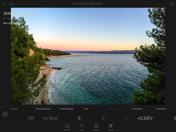 Lightroom 2.2 iOS