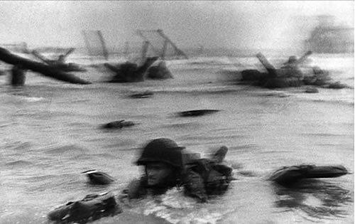 Robert Capa, Omaha Beach, 1944