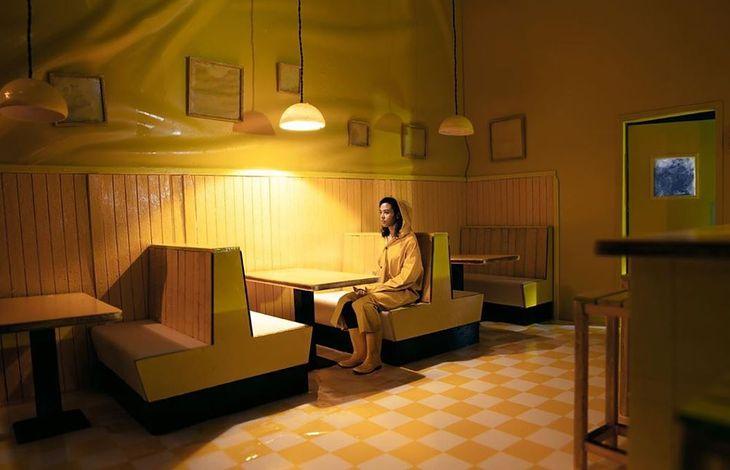 """Sceneria jednej z kostek w projekcie """"Cubes""""."""