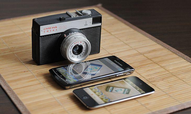 Instagram na Androidzie, iOS, a może prawdziwy analog? © Krzysztof Basel