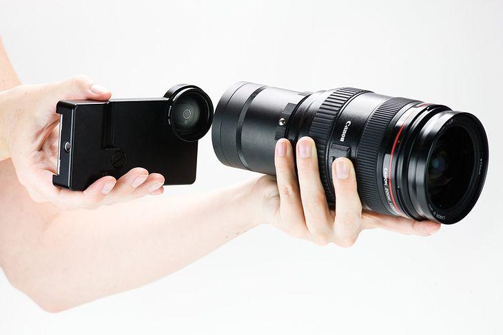Aparat w iPhonie za słaby? Skorzystaj z obiektywów Nikona i Canona
