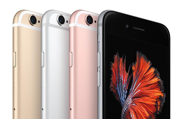 Apple iPhone 6s we wszystkich dostępnych kolorach.